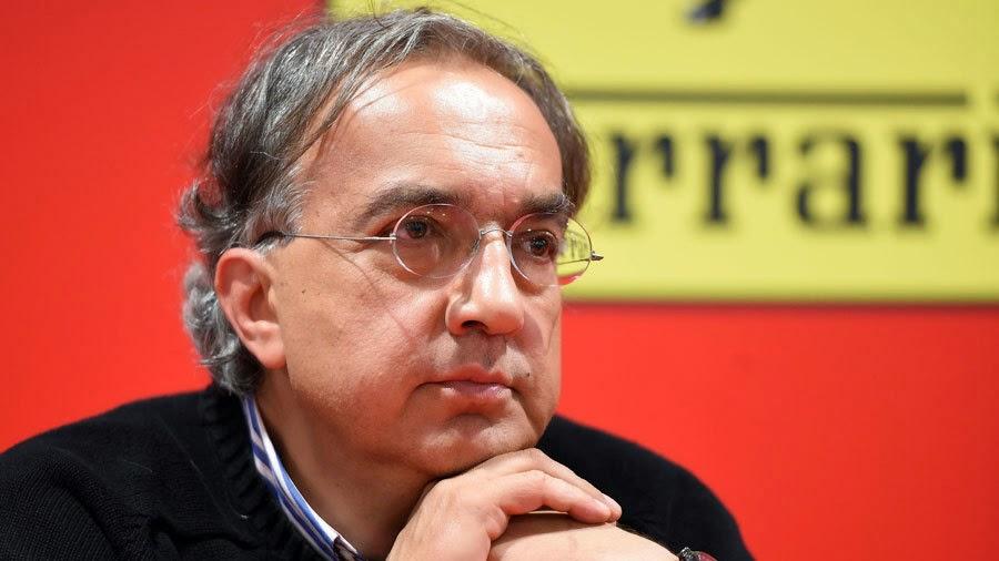 Sergio Marchionne, Fiat Chrysler Automobiles, ferrari