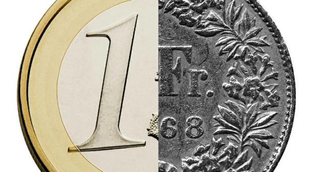 cambio franco svizzero con euro
