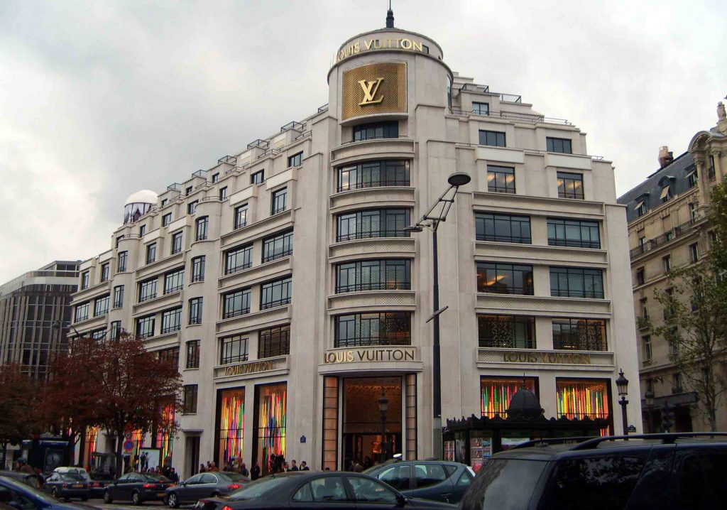 Louis Vuitton sede a Parigi