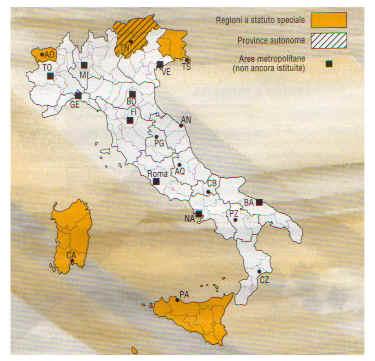 come funzionano regioni a statuto speciale
