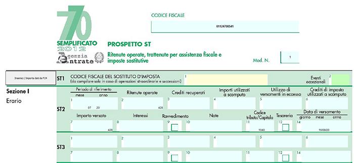 Modello 770 2017 possibilit di proroga al 30 settembre 2017 for Dichiarazione 770