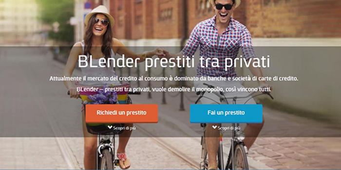 Rivoluzione nei prestiti tra privati blender for Prestiti tra privati