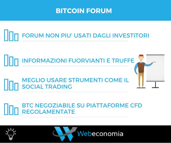 Forum bitcoin - Infografica