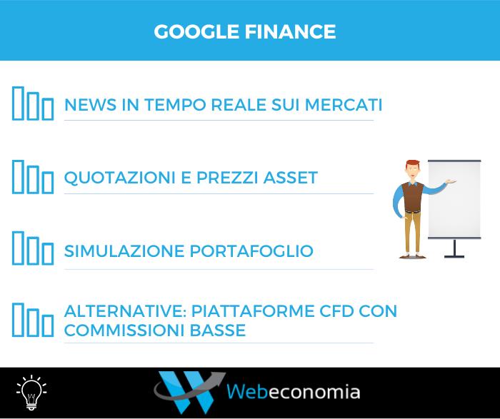 Google Finance - Infografica
