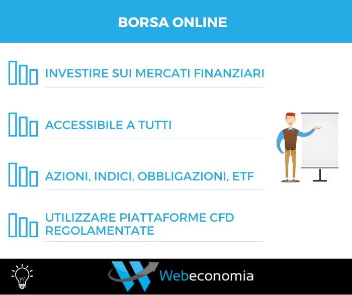 Borsa online vantaggi
