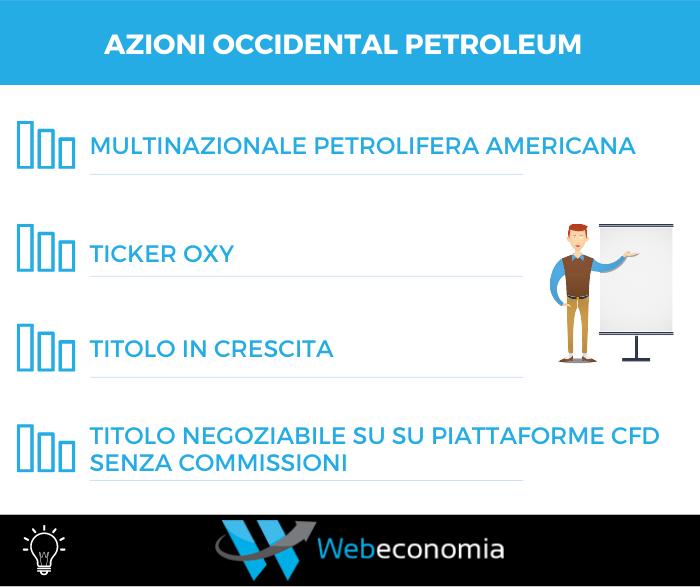 Comprare azioni Occidental Petroleum